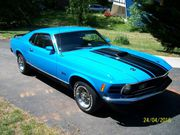 1970 Ford Mustang Grabber Blue Pachage